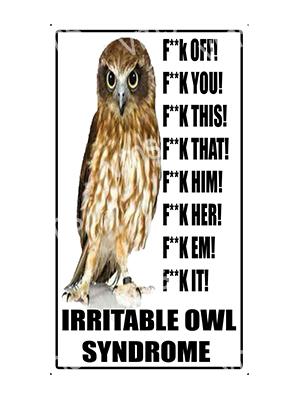 HHU029 – Irritable Owl Syndrome – 8×14