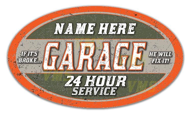 Dads Garage 814 Oval THUMB